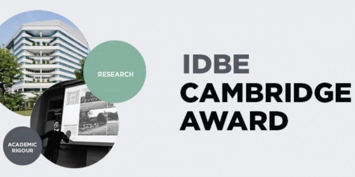 IDBE Cambridge Award