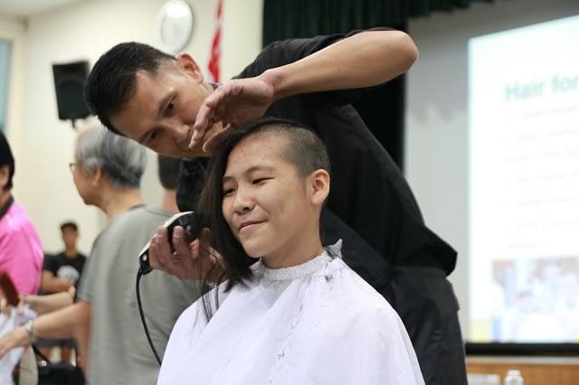 Zhu Jiayi - Hair for Hope